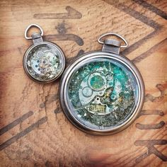 Finnabair: Art Recipe Wednesday: Vintage and Steampunk Pendants