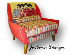 Baby, you can sit in my Beatles Armchair.