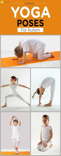 5 Effective #Yoga Poses For Autism #yogaposes                                                                                                                                                                                 More