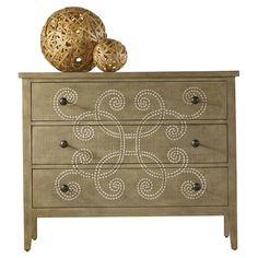 Love the swirl detail. Juliette Chest - Hooker Furniture