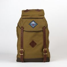 A backpack - correction, rucksack - that may just last throughout freshman year of high school: Alpine Rucksack via Best Made Company