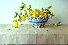 Bowl Of Meyer Lemons - SOLD