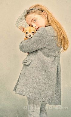 ALALOSHA: VOGUE ENFANTS: Sophisticated look from Tartine et Chocolat AW15 girlswear