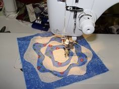 A Tutorial - How to make a French Rose Block Have this pattern and just haven't…