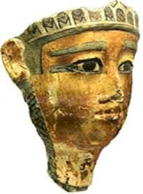 Death Mask, Napatan-Meroitic period, Nuri, Sudan