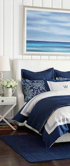 Coastal Bedroom Design                                                       … #moderncoastalbedrooms