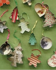 DIY Photo Cookie Cutter Ornaments