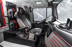 Mercedes-Benz Zetros Interior | Mercedes-Benz Zetros 6x6 Gets Opulent Interior From Carlex - Photo ...