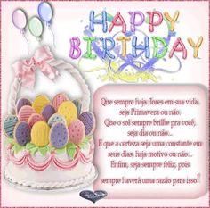 Happy Birthday, Que o sol sempre brilhe pra você #felicidades #feliz_aniversario #parabens
