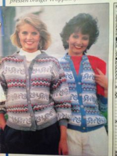 Ingeborg Sæland har strikket denne kofta til dronning Elisabeth og Diana, og originalen er fra Svanedal Ullvarefabrikk. Svanedal 38 (barnestørrelse). Norwegian Knitting, Sweater Cardigan, Diana, Knitting Patterns, Sweaters, Jackets, Outfits, Inspiration, Tops