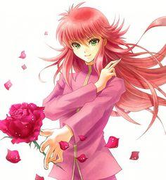 Tags: Anime, Sora (Pikasora), Yu Yu Hakusho, Kurama, Thorns