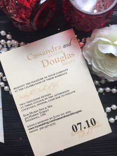 Invitations by The Paper Bride • custom order? Contact me today www.facebook.com/ThePaperBrideConsultantRebecca Invitation Design, Invitations, Marriage, Bride, Facebook, Paper, Valentines Day Weddings, Wedding Bride, Bridal