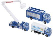 Conjunto de Vehículos Policía