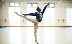 """Elgin, S.C., native Brooklyn Mack plays the Duke Albrecht in the Washington Ballet\'s production of """"Giselle."""" He began dancing when he was 12."""