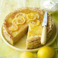 Crepetaart met citroen recept - Taart - Eten Gerechten - Recepten Vandaag
