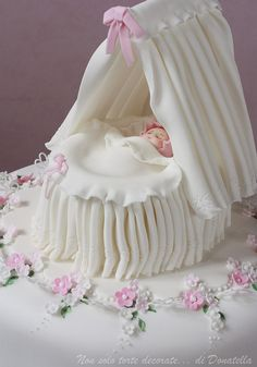 Christening cake topper by semalo63, via Flickr
