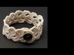 ▶ How to Crochet a Lace Scallop Trim #2 by Gwen Fisher with Doceri Software - YouTube