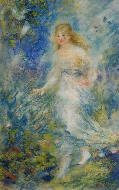 Spring (The Four Seasons) Pierre Auguste Renoir