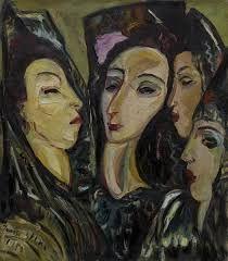 Irma Stern - Four Spanish Women