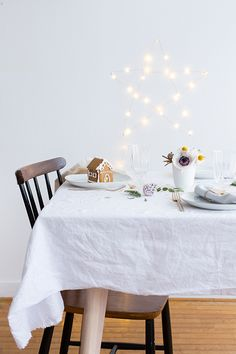 Christmas table - Carnets parisiens