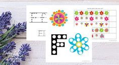 Rain in with spring with these fun spring flower preschool printables with dot coloring pages, writing and pattern pages.