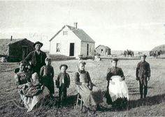 Out on a Nebraska farm with the Nelson family, 1890