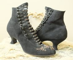 Originally 525 These boots were love at first sight! They are so elegant and in astonishingly good condition! I wouldnt be selling them if I