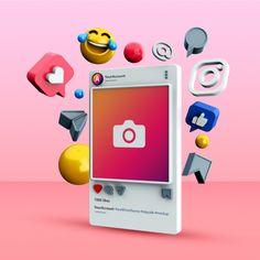 Instagram Marketing Tips, Instagram Logo, Instagram Posts, Alone Girl Pic, Blog Templates Free, Banners, 3d Icons, Flower Background Wallpaper, Smart Art