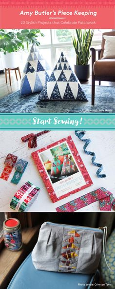 For fans of Amy Butler and novice sewers, this project-based sewing book teaches what Amy does best: sewing, quilting and pattern making. Sections on traditional sewing themes, tools and methods provide foundational basics to up your sewing game, while 20 different projects offer loads of inspiration. How-to diagrams and 9 sheets of full-size patterns make Piece Keeping an incredibly practical sewing guide, and Amy's textile designs give that spark of inspiration to get your creativity…