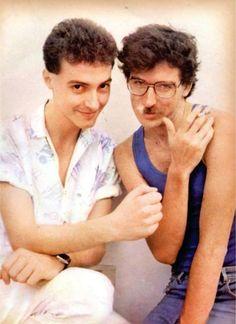 Charly García y Pedro Aznar