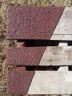 Slip-resistant epoxy surface.
