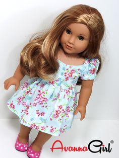 American Girl Doll® Handmade Easter Dress