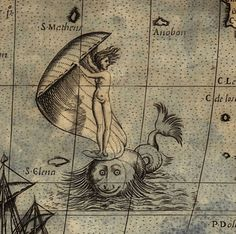 Sea serpents and sirens fill the pages of a new book about sea monsters on ancient maps.