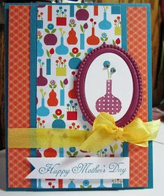 Mother's Day card using Bright Blossoms
