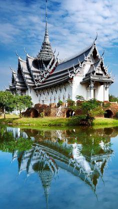 Sanphet Prasat Palace, Thailand... #Thailand
