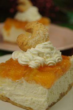 Vanille Kipferl Mandarinen Schnitten - mein Weihnachtsrezept für Euch. LOGI geeignet, für Diabetiker geeignet.