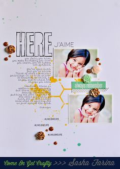 Here J'aime by Sasha at @Studio_Calico Digital Scrapbooking Layouts, Scrapbook Pages, Scrapbook Layouts, Mini Albums, Live Love Life, Whimsical Fashion, Freestyle, Studio Calico, Layout Inspiration