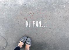 Du Fun.. In the streets of Paris • By Fantine & Simon • #paris #streetart #urbanart #graffiti #stencil #fantinetsimon #photography #love #amour #wild #iloveyou #flowers #paris #elegance www.fantineetsimo... ©Fantine&Simon