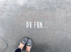 Du Fun.. In the streets of Paris • By Fantine & Simon • #paris #streetart #urbanart #graffiti #stencil #fantinetsimon #photography #love #amour #wild #iloveyou #flowers #paris #elegance www.fantineetsimo... ©Fantine&Simon