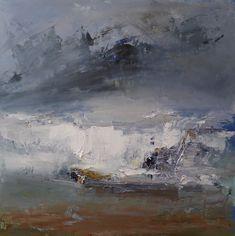 Ian Rawnsley (@rawnsleyart) | Twitter Contemporary Landscape, Abstract Landscape, Abstract Art, Abstract Paintings, West Coast Scotland, Blue Painting, Small Art, Western Art, Collage