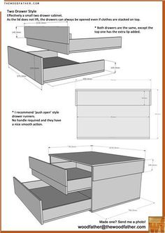 Woodfather.com mega shoe box storage plans pdf download!!!! Diy mega shoe box!