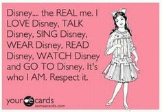 """Disney Love. Not so sure about the """"wear Disney"""" though... Once in a while. ;)"""