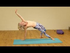 ▶ Fun Hip Opening Yoga Flow - YouTube
