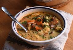 13 forró és laktató leves, amitől a téli mínuszokat is könnyebben veszed My Recipes, Soup Recipes, Cooking Recipes, Fine Dining, Cheeseburger Chowder, Thai Red Curry, Tapas, Bacon, Diet