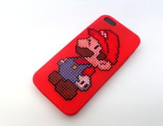 Phone Cases – Super Mario inspired iPhone case – a unique product by JoystitchShop on DaWanda
