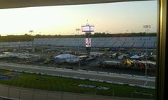 View from the box at RIR September 2012
