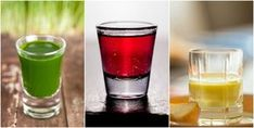 These 10 shots are loaded with nutrients that will improve your health in many different ways and give you that much needed energy boost! Wellness Shots, Health And Wellness, Zeal Wellness, Wellness Tips, Healthy Juices, Healthy Drinks, Healthy Recipes, Green Shot, Energy Shots