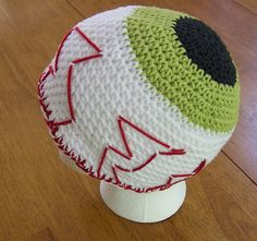 EYE on You Hat, silly kid's chemo hat  by Darleen Hopkins