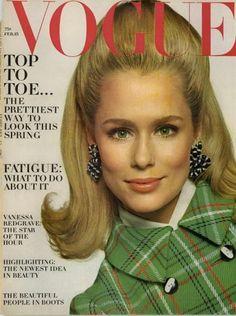 Lauren Hutton by Bert Stern Vogue US February 1967