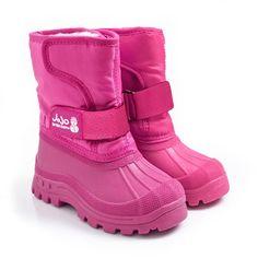Children's Alpine Snow Boots in Raspberry (to match Joules coat) from JoJo Maman Bebe